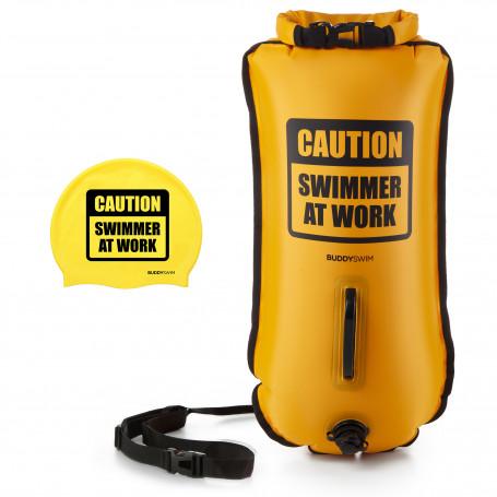 Boya Drybag BuddySwim CSW 28lt, Amarillo