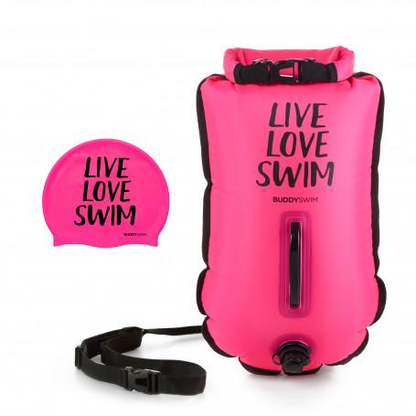 Boya Drybag BuddySwim LLS 20lt, Rosa