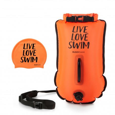 Boya Drybag BuddySwim LLS 20lt, Naranja
