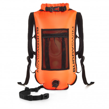 Boya Drybag BuddySwim with Flag, Orange